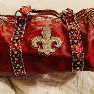 Nwt fluer di lis handbag